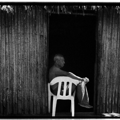 """San Bernardo del Viento # 2"" from the serie ""San Bernardo del Viento"" / Technique: analog photography. Film: Kodak Tmax 3200 / Dimensions of the work: cm."