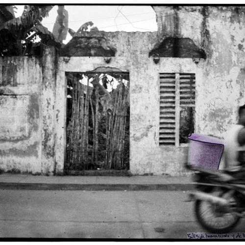 """""""La pared del Viento # 5"""" / Técnica: fotografía análoga, texto, dibujo. Película: Ilford Pan 400 / Dimensiones de la obra: cm."""