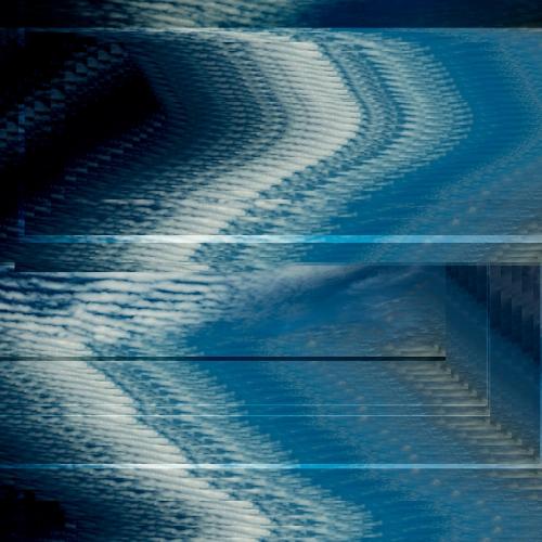 """""""17 trazos de lo que pudo ser un paisaje # 6"""" de la serie """"17 trazos de lo que pudo ser un paisaje"""" / Técnica: fotografía análoga, fotografía digital y composición-pintura digital / Dimensiones de la obra: 100 x 65 cm."""