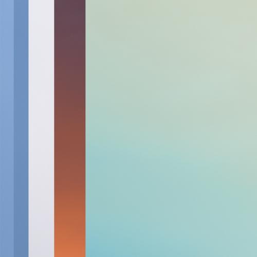 """""""17 trazos de lo que pudo ser un paisaje # 5"""" de la serie """"17 trazos de lo que pudo ser un paisaje"""" / Técnica: fotografía análoga, fotografía digital y composición-pintura digital / Dimensiones de la obra: 100 x 65 cm."""