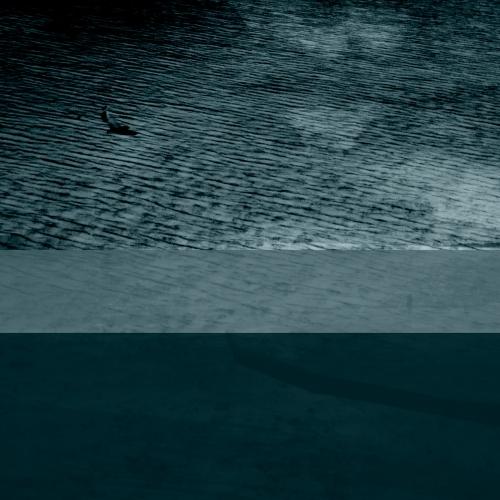 """""""17 trazos de lo que pudo ser un paisaje # 1"""" de la serie """"17 trazos de lo que pudo ser un paisaje"""" / Técnica: fotografía análoga, fotografía digital y composición-pintura digital / Dimensiones de la obra: 100 x 65 cm."""