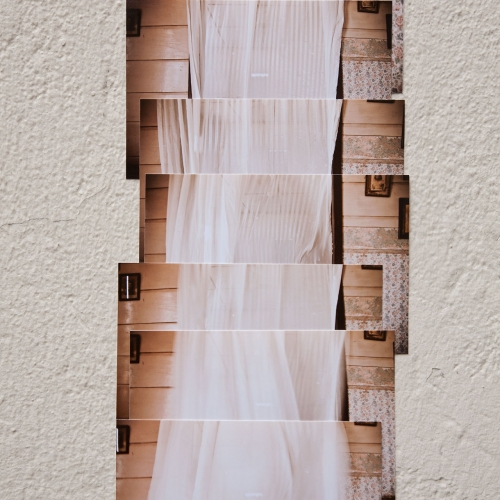 """""""José # 3"""" de la serie """"José"""" / Técnica: fotografía digital y collage / Dimensiones de la obra: 38 x 17 cm. / El fondo no hace parte de la obra."""